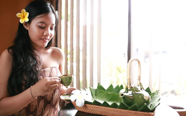 Bahari Balinese Spa - Herbal Drink