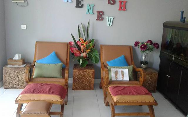 Bali Indah Spa Sanur Foot Treatment Area