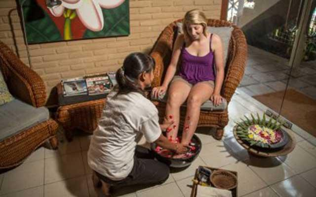 Spa Amed - Tauch Terminal Dive Resort - Pedicure