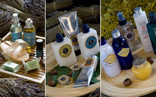 Jimbaran Spa - Bamboo Spa by L'OCCITANE : products