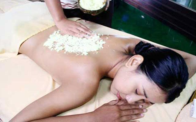 Spa Bali - Toya Spa : body scrub