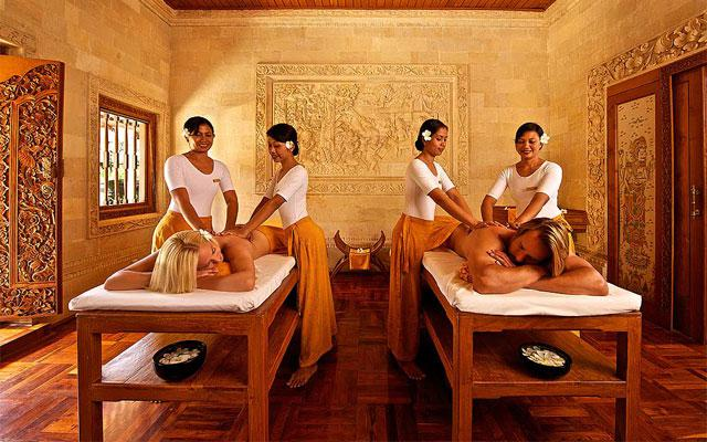 Spa Pamuteran - Parwathi Spa : couple massage