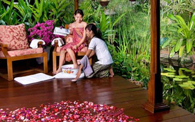 Spa Bali - Orchid Spa Candi Dasa : foot treatment