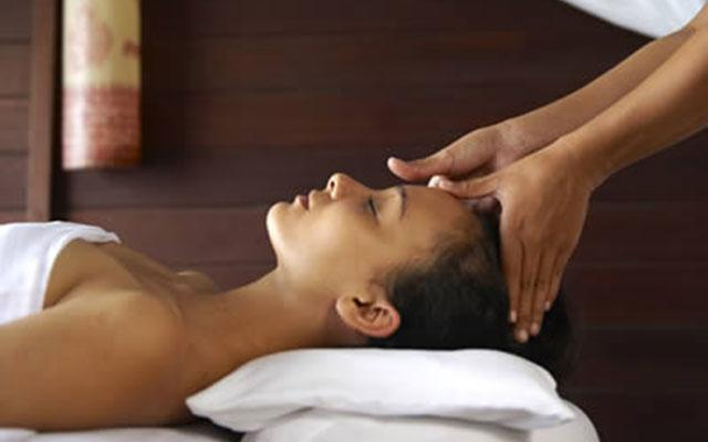 Karma Spa at Karma Kandara Resort Bali - Head Massage