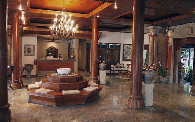 Spa Bali - Jaya Spa at Candidasa : lobby