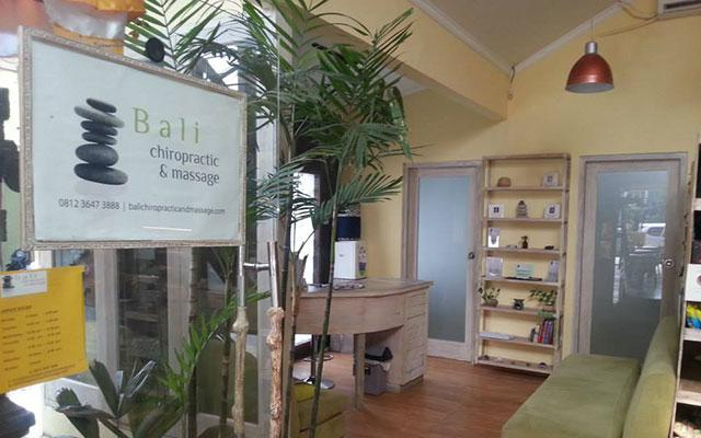 Chiropractic Treatment in Bali - Sanur